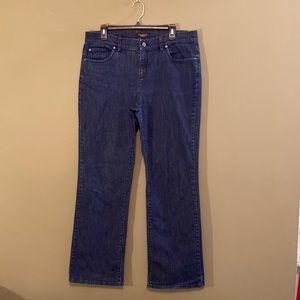 Talbots boot cut denim jeans 12